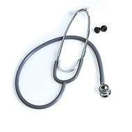 Classic Stethoscope McKesson Gray 1-Tube 21 Inch Tube Double-Sided Chestpiece 676GMM Each/1