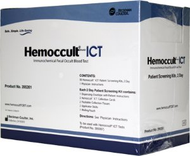 Patient Sample Collection and Screening Kit Hemoccult® ICT 2-Day Colorectal Cancer Screening Fecal Occult Blood Test (iFOB or FIT) Stool Sample 50 Tests 395261A Case/200