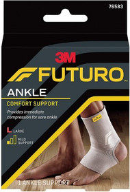 """Ankle Support 3Mâ""""¢ Futuroâ""""¢ Comfort Liftâ""""¢ Large Pull-On Left or Right Foot 76583ENR Box/3"""