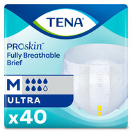 Unisex Adult Incontinence Brief TENA® Ultra Medium Disposable Heavy Absorbency 67200 Each/1