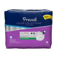 Female Adult Absorbent Underwear Prevail® Color Collections for Women Pull On with Tear Away Seams Large Disposable Moderate Absorbency PWV-513 Pack/18