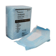 Underpad Simplicity™ Extra 23 X 36 Inch Disposable Fluff Moderate Absorbency 1093 Each/1