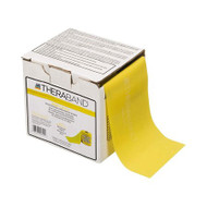 Exercise Resistance Band Thera-Band® Yellow 4 Inch X 25 Yard Light Resistance 20324 Case/12