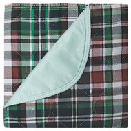 Underpad Beck's Classic 18 X 24 Inch Reusable Polyester / Rayon Heavy Absorbency 7118P Dozen/12