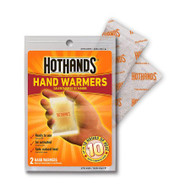 Instant Hot Pack Hothands-2® Hand Nonwoven Material Cover / Activated Charcoal / Iron Powder / Salt / Vermiculite / Water Disposable HH-2 Box/40