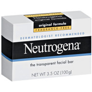 Facial Cleanser Neutrogena® Bar 3.5 oz. Individually Wrapped Unscented 10070501010102 Case/24