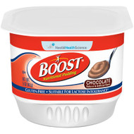 Oral Supplement Boost® Nutritional Pudding Chocolate Flavor Ready to Use 5 oz. Cup 09460300 Carton/4
