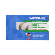Burn Dressing Water-Jel® First Responder 8 X 18 Inch Rectangle Sterile B0818-20.00.000 Each/1