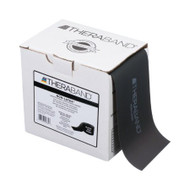 Exercise Resistance Band Thera-Band® Black 6 Inch X 25 Yard X-Heavy Resistance 20364 Each/1