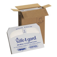 Toilet Seat Cover Safe-T-Gard™ Half Fold 16.8 X 14.3 Inch 47052 Case/1000