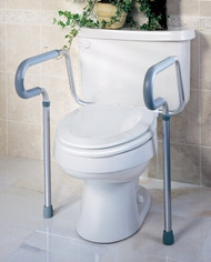 Toilet Safety Rail Aluminum MDS86100RF Case/1