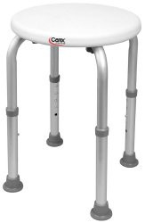 Shower Stool Without Arms Aluminum Frame Without Back FGB600TF 0000 Each/1