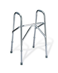 Non Folding Walker Adjustable Height Basic Aluminum 250 lbs. 31 to 37.5 Inch MDS86204 Each/1