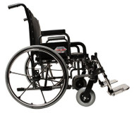 Bariatric Wheelchair Paramount XD Extra Heavy Duty Removable Desk Arm Mag Black 26 Inch 650 lbs. 5PX10620 Each/1
