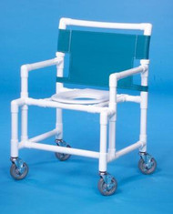 Bariatric Shower Chair Original Oversize Fixed Arm PVC Frame Mesh Back 20 Inch Clearance SC9200 OS Each/1 - 21073309