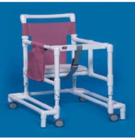 Non Folding Walker Adjustable Height Ultimate PVC 300 lbs. 29 to 35 Inch ULT99 Each/1 - 90093809