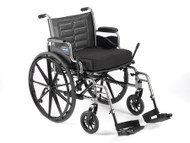 Lightweight Wheelchair Tracer SX5 Dual Axle Padded Fixed Height Flip Back Desk Arm Mag 22 Inch 300 lbs. TRSX52FBP Each/1
