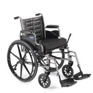 Wheelchair Tracer EX2 Dual Axle Padded Fixed Height Removable Desk Arm Mag Midnight Blue 20 Inch 250 lbs. TREX20RP Each/1