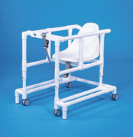 Non Folding Walker Adjustable Height Standard PVC 300 lbs. 29 to 35 Inch VL W66 Each/1