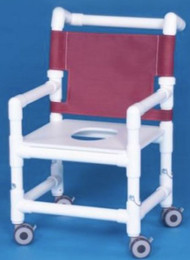 Shower Chair With Arms Mesh Back 16 to 22 Inch PD SC26 FS Each/1