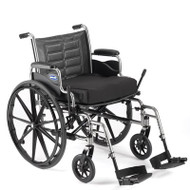 Bariatric Wheelchair Tracer IV Heavy Duty Padded Fixed Height Removable Full Arm Mag 24 Inch 350 lbs. T424RFAP/T94HAP Each/1