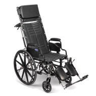 Reclining Wheelchair Tracer SX5 Recliner Padded Fixed Height Removable Desk Arm 20 Inch 300 lbs. TRSX5RC6P/T94HEP Each/1