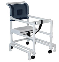 Non Folding Walker Adjustable Height 400 Series PVC 300 lbs. 33 to 40.5 Inch WT-418-OR-3 Each/1