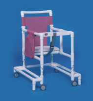 Non Folding Walker Adjustable Height Ultimate PVC 300 lbs. 29 to 35 Inch ULT-99 Each/1 - 90013809
