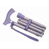 Folding Cane Switch Sticks Aluminum 32 to 37 Inch Engraved Royal Purple 502-2000-5203 Each/1