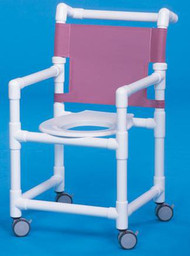 Shower Chair Select Fixed Arm PVC Frame Mesh Back 20 Inch Clearance ESC-20 Each/1 - 32023309