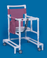 Non Folding Walker Adjustable Height Ultimate PVC 300 lbs. 29 to 35 Inch ULT99 Each/1 - 90063809