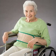 Wrap Around Safety Belt Posey 66 Inch L Beige Quilted 3658S-M Each/1 - 36583009