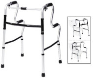 Single Release Folding Walker Adjustable Height Lumex UpRise Aluminum 400 lbs. 32 to 39 Inch 700175C-2 Each/1