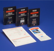 Anti-embolism Stockings T.E.D. Knee-high Large, Regular Black Closed Toe 4436 Pair/1