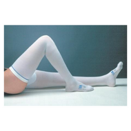 Anti-embolism Stockings T.E.D. Thigh-high Large, Short White Inspection Toe 3634LF CT/6