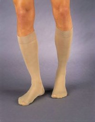 Compression Stockings Jobst Knee-High X-Large Beige Open Toe 114629 Pair/1