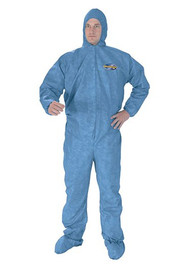 Coverall Kleenguard X-Large Blue Disposable 45094 Case/24