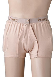 Hip Protection Brief Hipsters Incontinent Small Beige 6017S Each/1 - 60173000