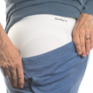 Hip Protection Brief with Pads GeriHip PPI-RAP Brief X-Large White Adult 36-400 Each/1