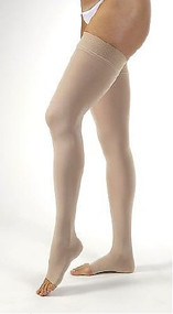 Anti-embolism Stockings Jobst Relief Thigh-high Small Beige Open Toe 114200 Pair/1