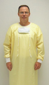 Protective Procedure Gown Large Yellow Unisex 66994585 DZ/12 - 66891009