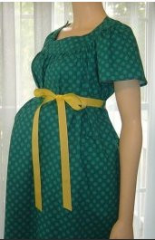 Patient Exam Gown Large Green Print Adult 7498A430 DZ/12