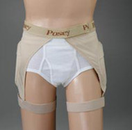 Hip Protection Brief Hipsters EZ-On X-Large 6019HXL Each/1 - 61293259
