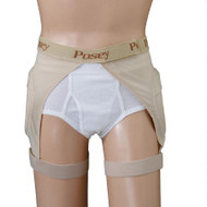 Hip Protection Brief Hipsters EZ-On X-Large Beige Unisex 6019XL Each/1 - 60193249