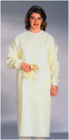 Protective Procedure Gown 3 X-Large Yellow Unisex 66103391 DZ/12