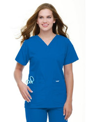 Scrub Shirt 2 X-Large Royal Blue 73003751 Each/1