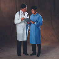 Lab Coat Basic Plus White X-Large Long Sleeve Knee Length 10123 Case/25