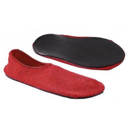 Fall Management Slippers Adult Medium Red Below the Ankle 6243M Pair/1
