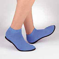 Slippers Pillow Paws Medium Azure Ankle High 5085 Case/48 - 63471200