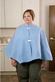 Exam Cape Ezcover Mauve One Size Fits Most 23 X 48 Inch Front Opening 29047 Case/25